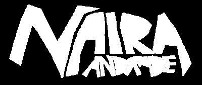 Logo typographique de Naira Andrade