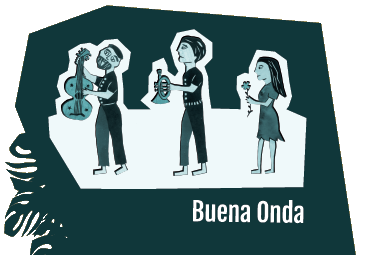 Logo du groupe de musique Buena Onda
