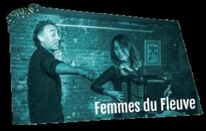 Logo du groupe de contes et musique Femmes du Fleuve