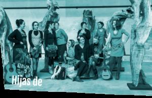 Logo du groupe de cumbia colombienne Hijas de